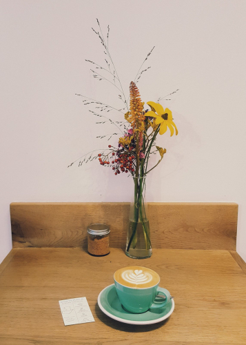 bocca coffee green cup
