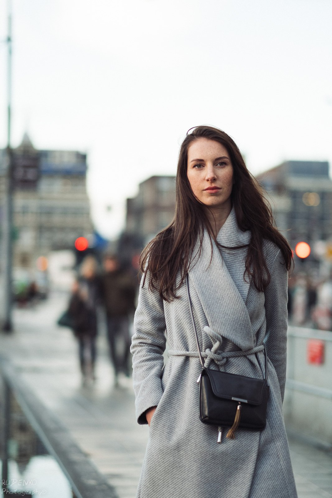 фотопрогулка девушки с амстердамским фотографом