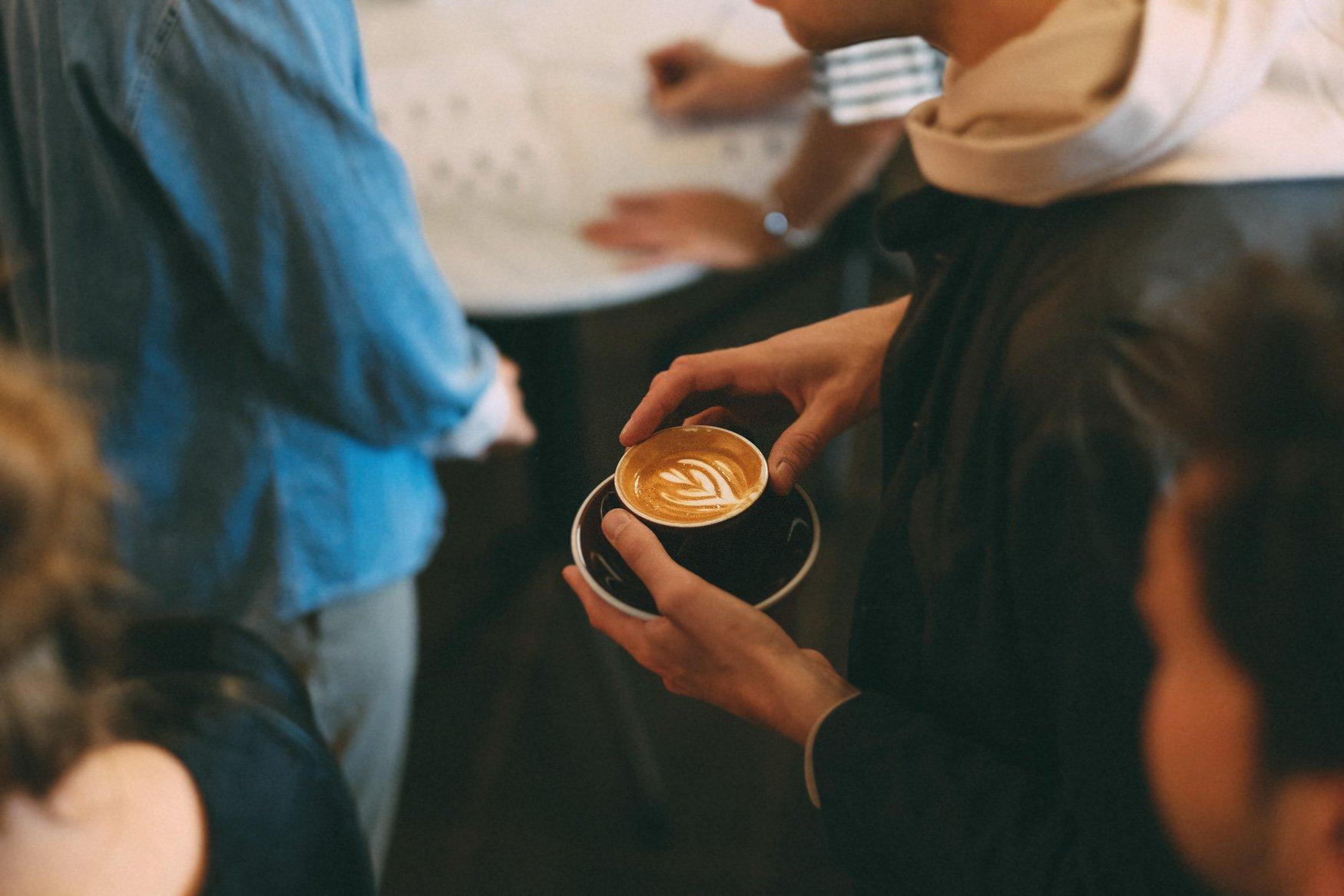 new werk theater koffie