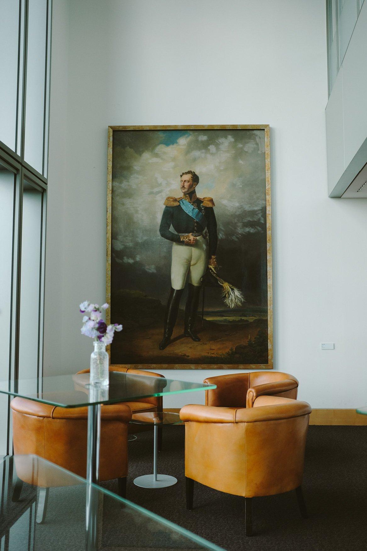 ABN AMRO Gustav Mahlerlaan - Czaar Alexander II, één van de eerste geldschieters van de ABN