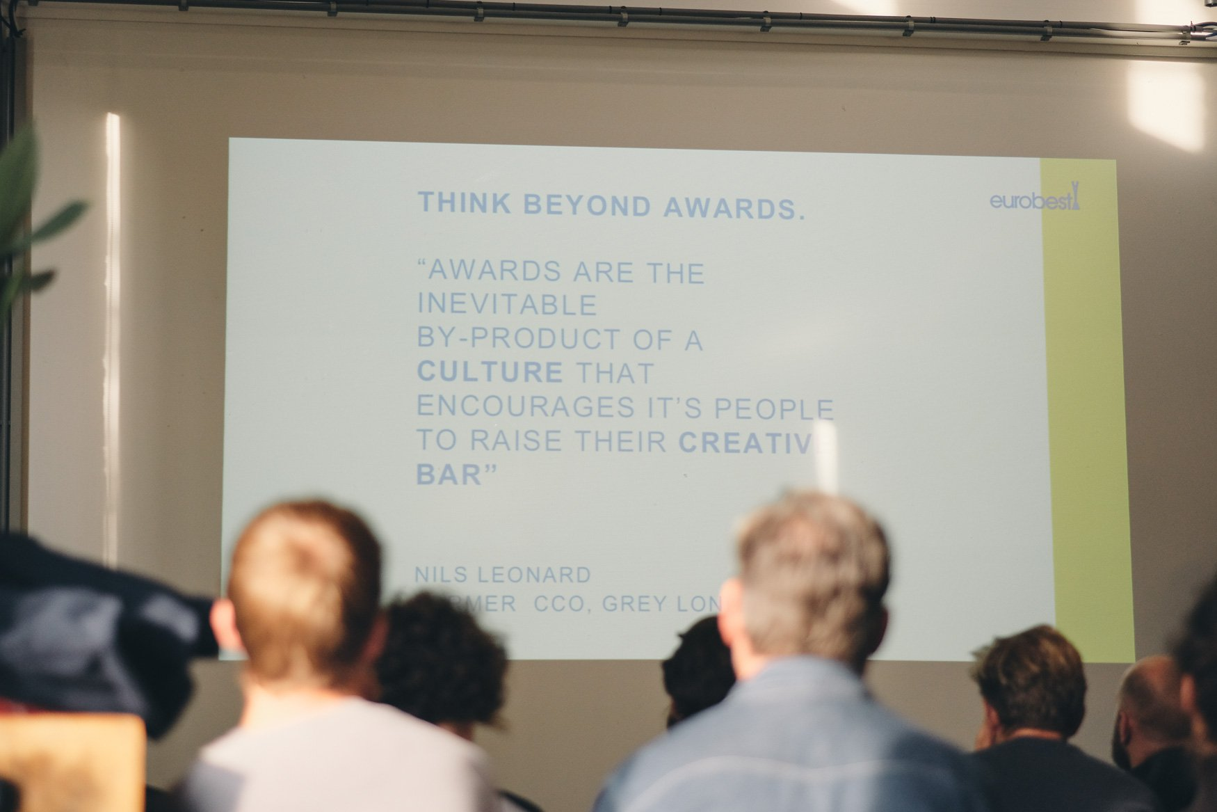 think beyond awards