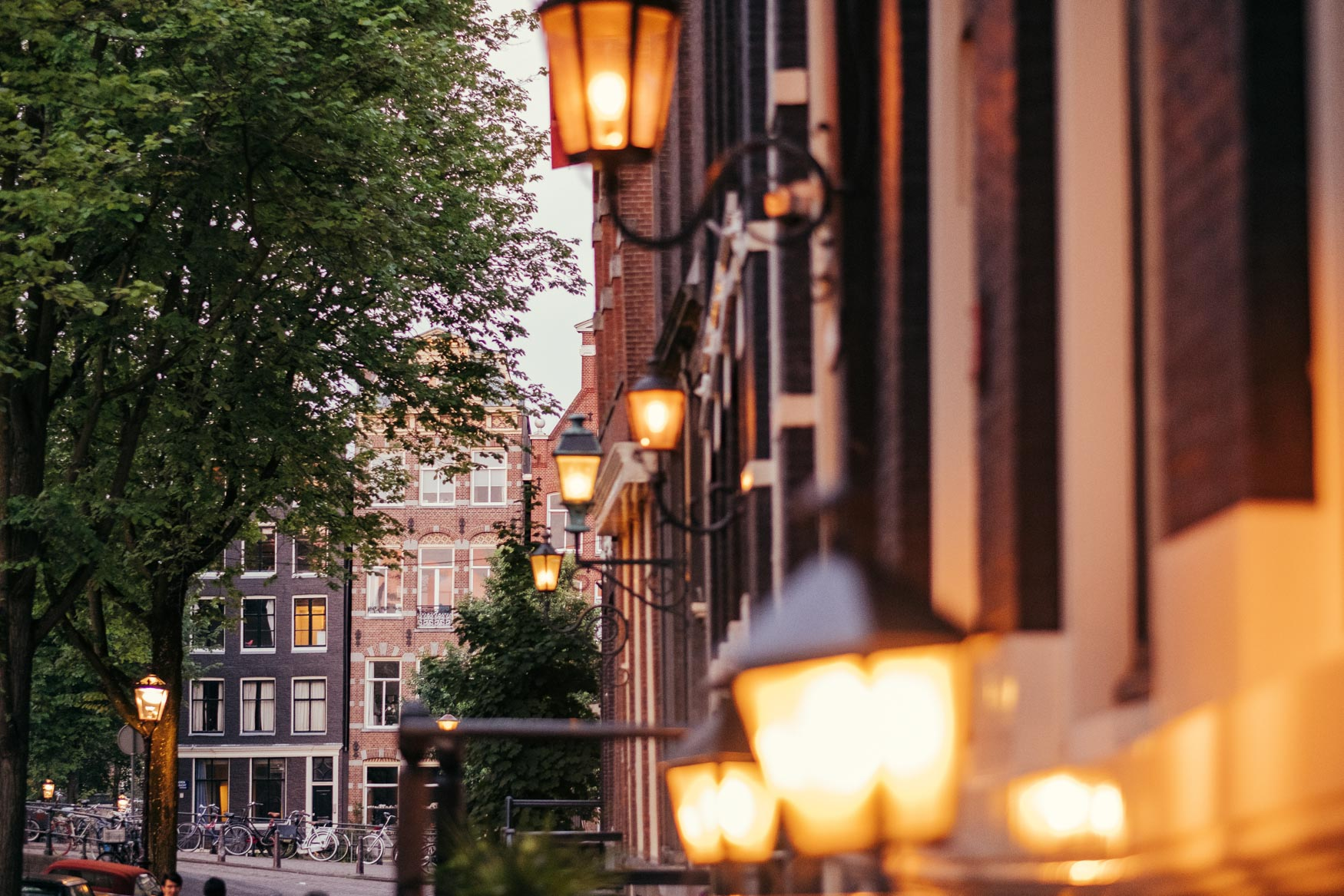 golden lights amsterdam
