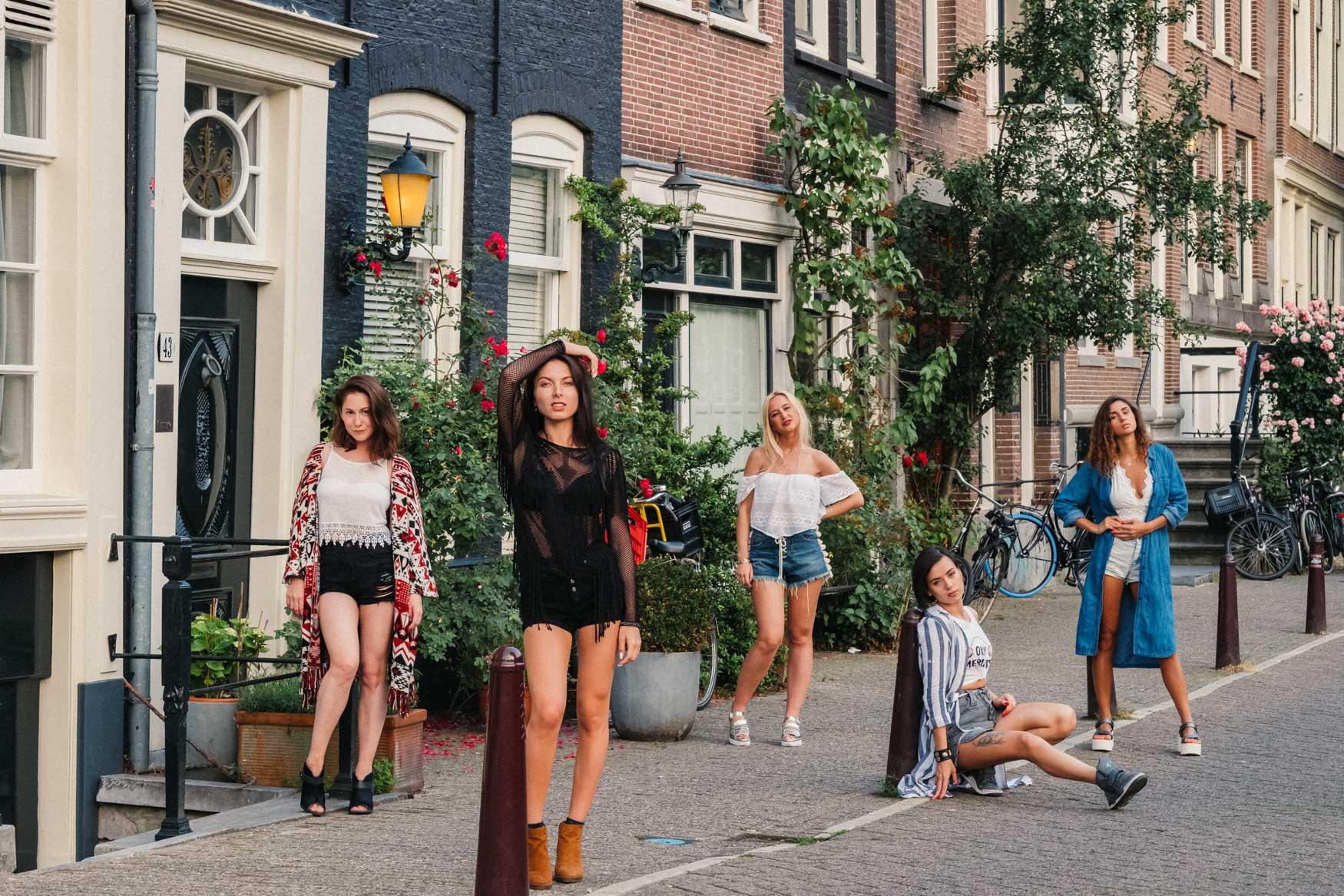 фотосессия на девичник голландия