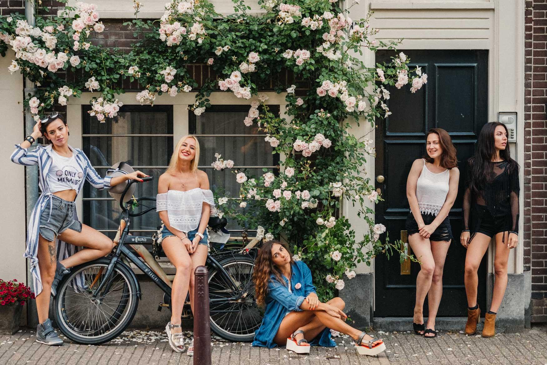 фотосессия на девичник нидерланды