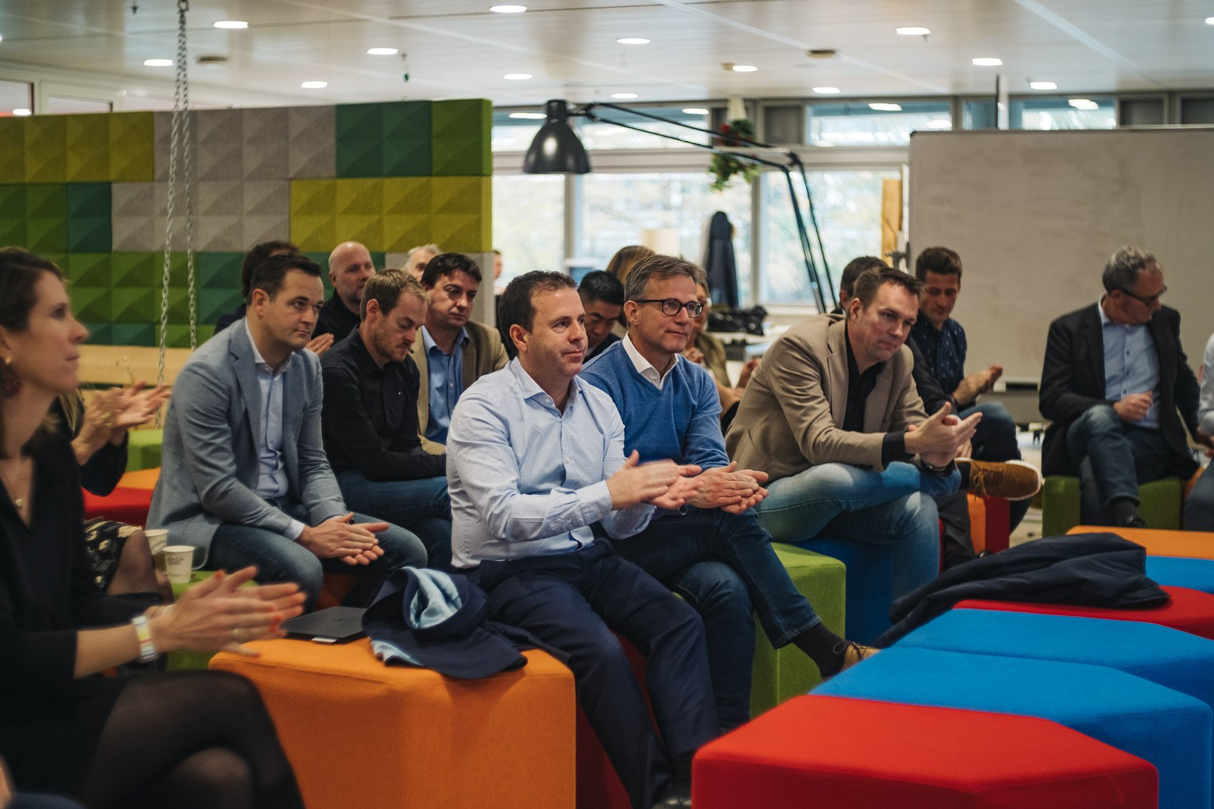 photoreportage international meet up ABN AMRO