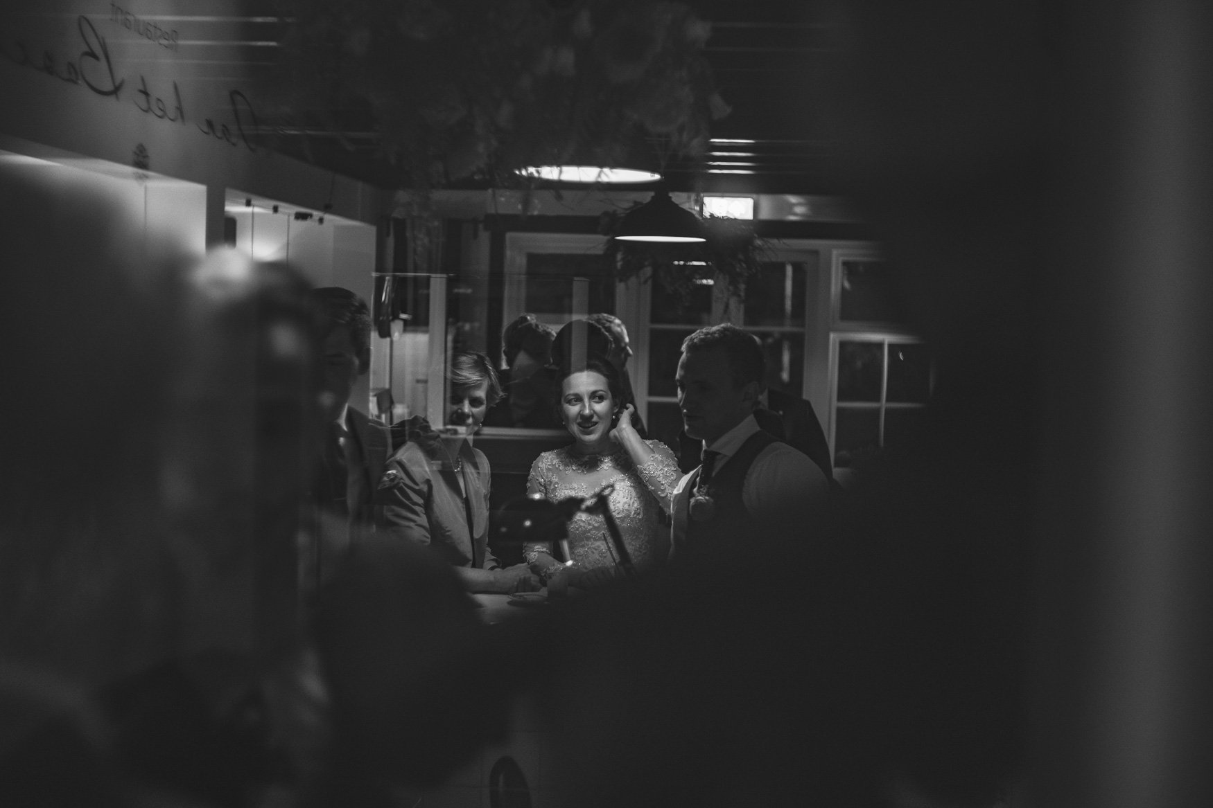 bw wedding photoreport