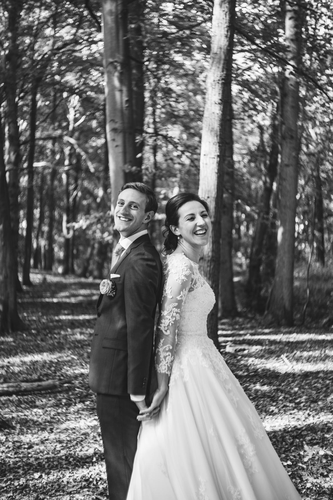 wedding forest Castricum