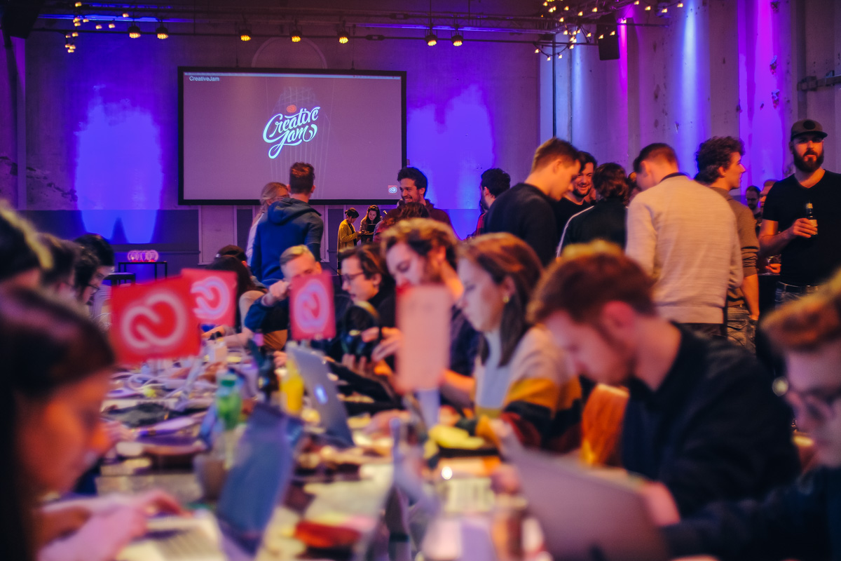 adobe - creative jams event