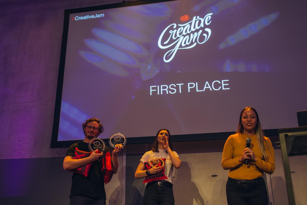 creative jam 2019 winner - amsterdam