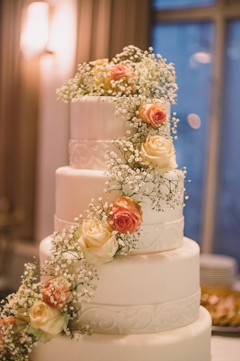 trouwfotograaf kompaszaal taart