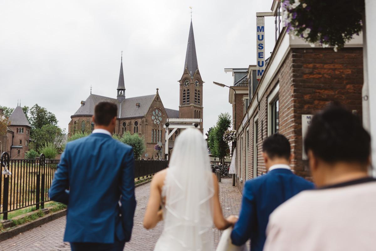 het gemeentehuis van Ouder-Amstel