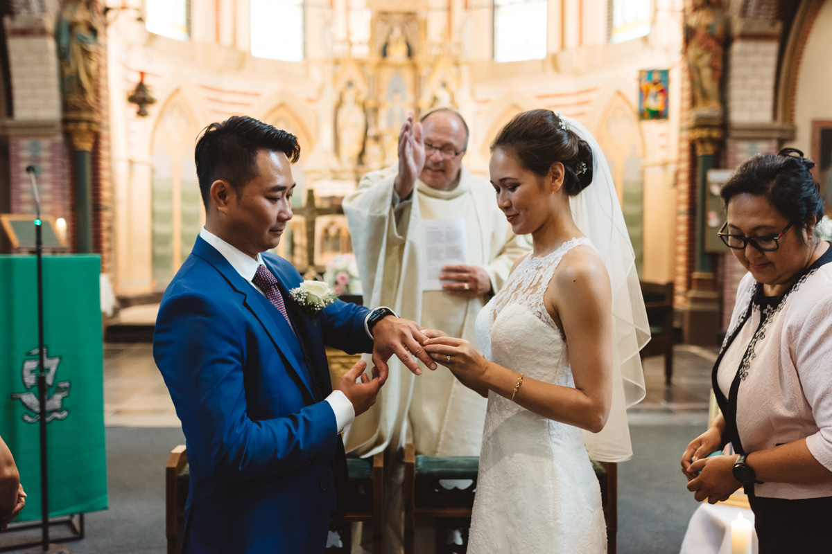 kerk van Ouder-Amstel trouwfoto's