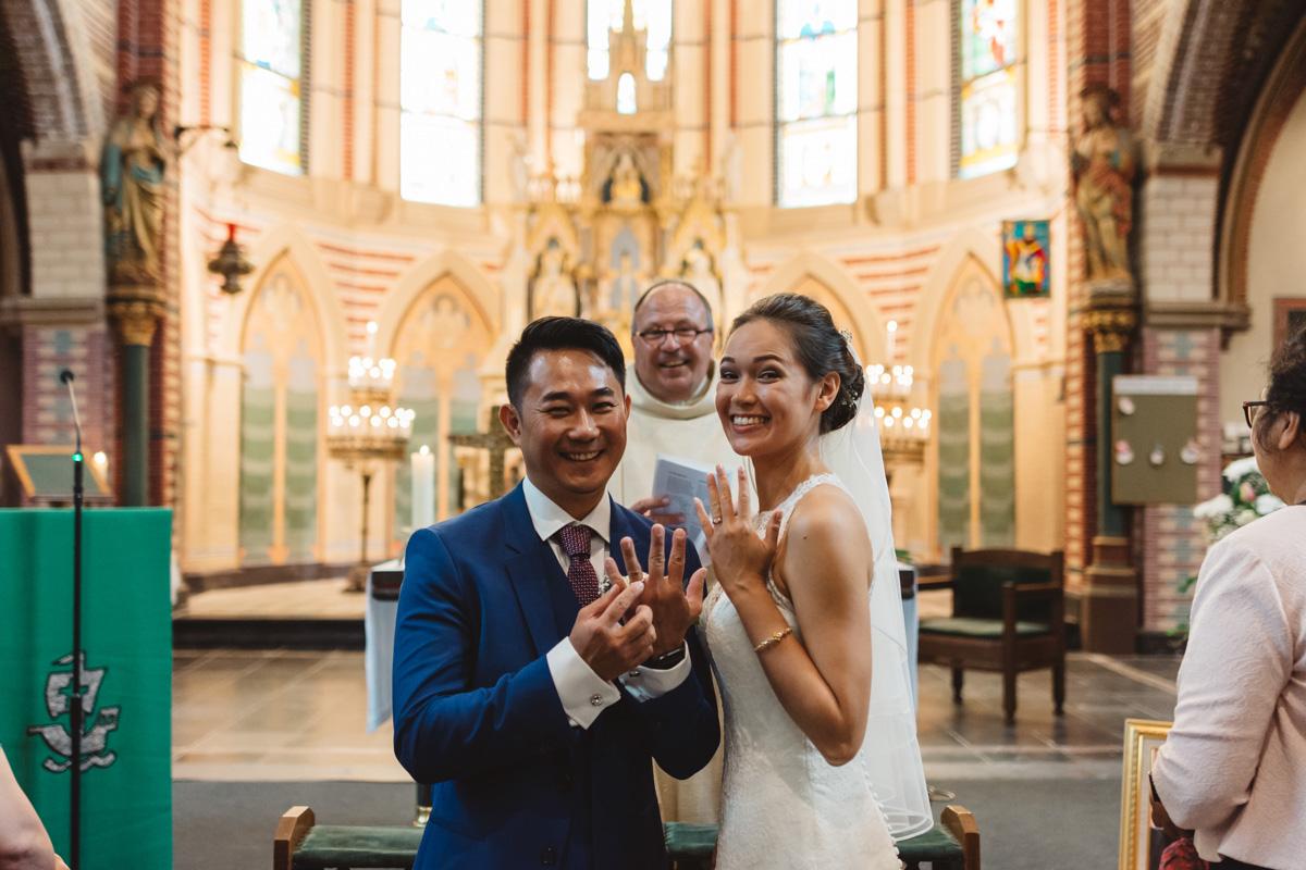 kerk van Ouder-Amstel trouwreportage