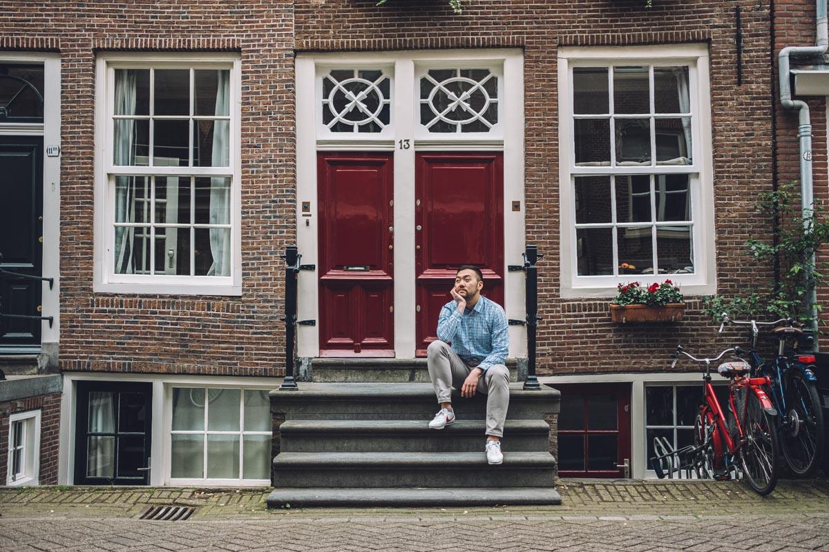 фотосессия парня амстердам