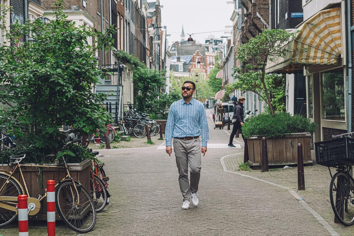 man photographer amsterdam