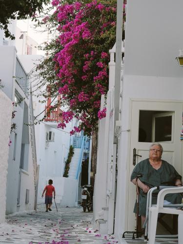 дневний путешествий миконос греция