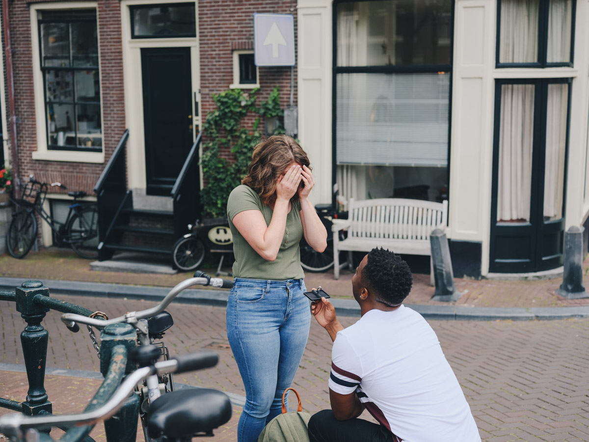 proposal photosession amsterdam