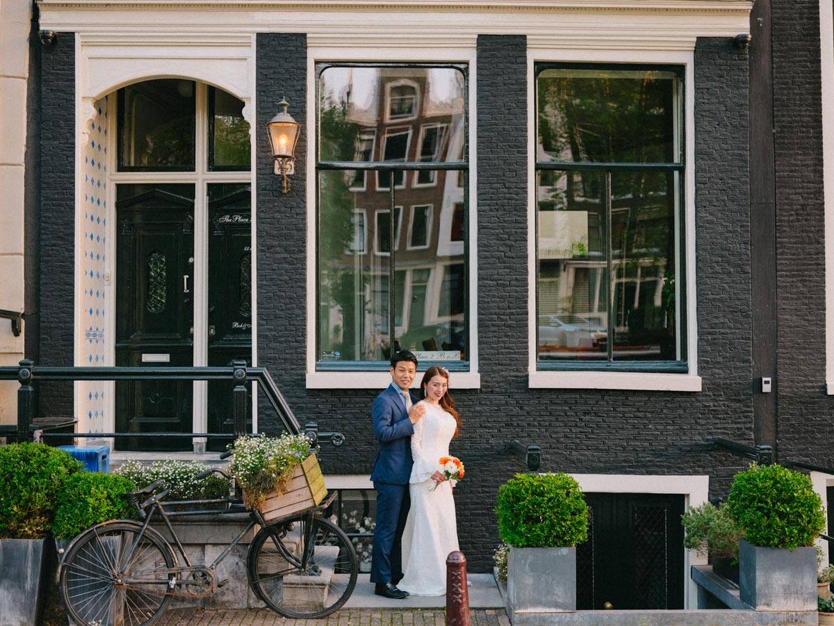 elopement photographer amsterdam