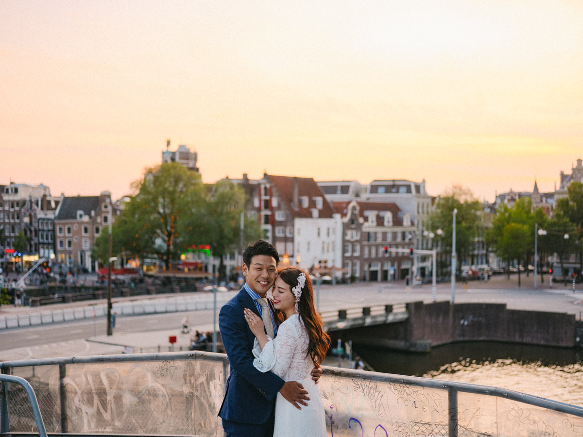 japanese couple photography amsterdam