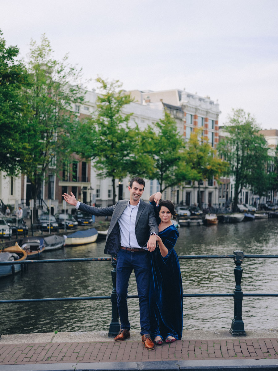 amsterdam engagement proposal