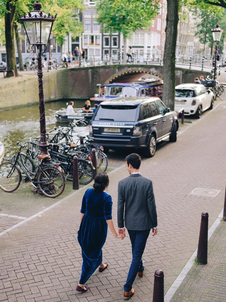 amsterdam engagement couple