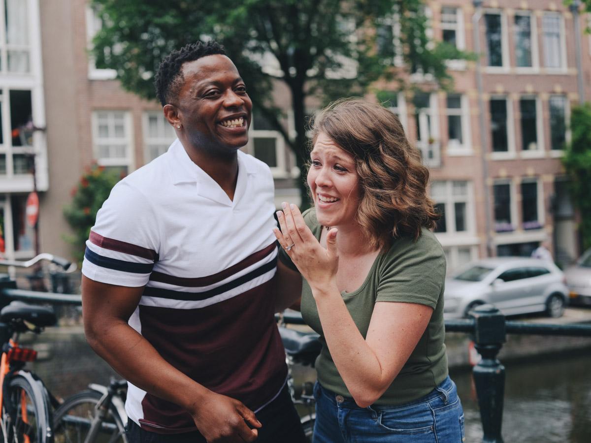 couple photoshoot proposal amsterdam