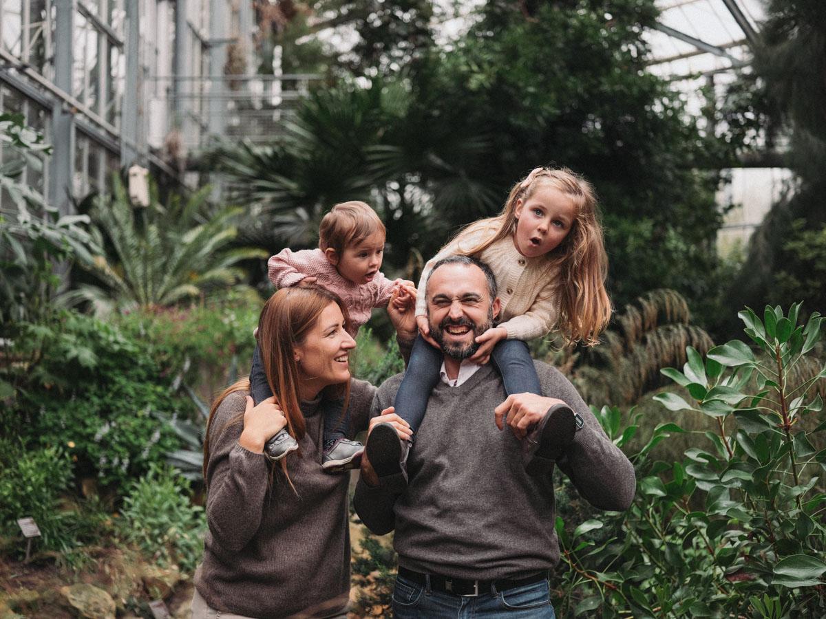 hortus botanicus - family photography amsterdam