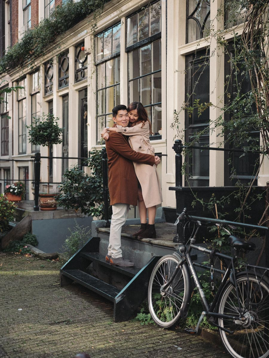 street couple photography amsterdam