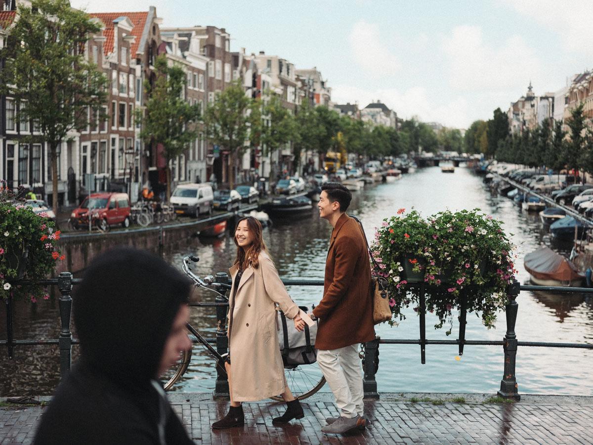 streetstyle loveshoot amsterdam