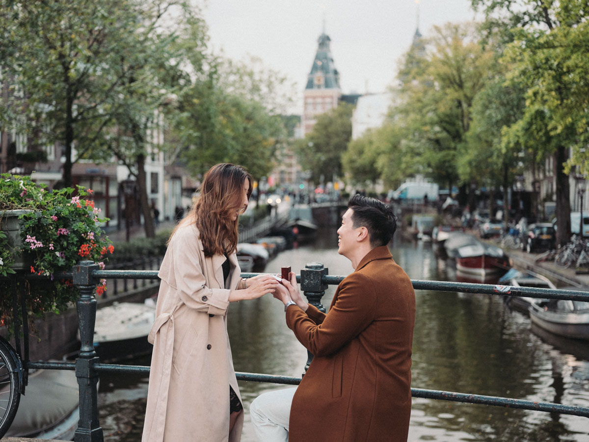 marriage proposal photography amsterdam