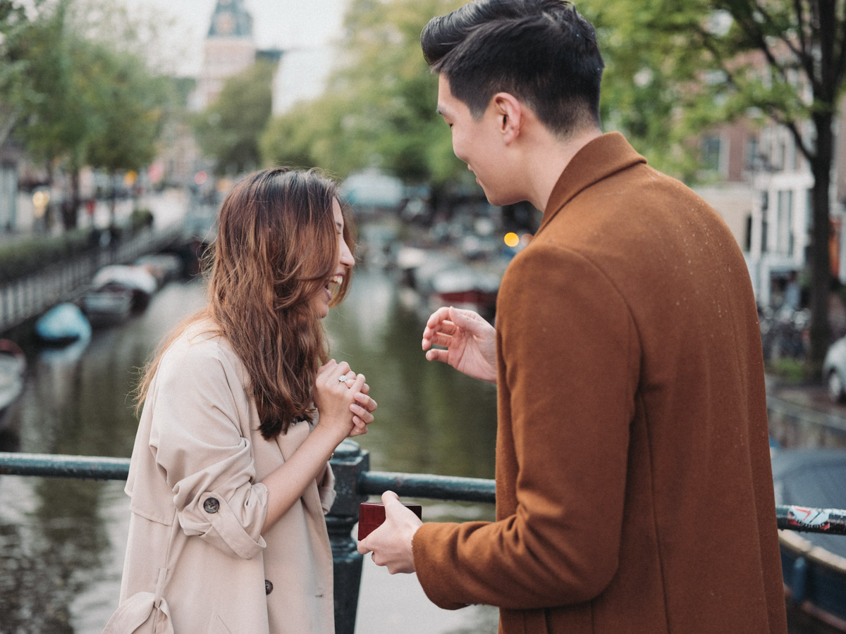 marriage proposal photographer amsterdam