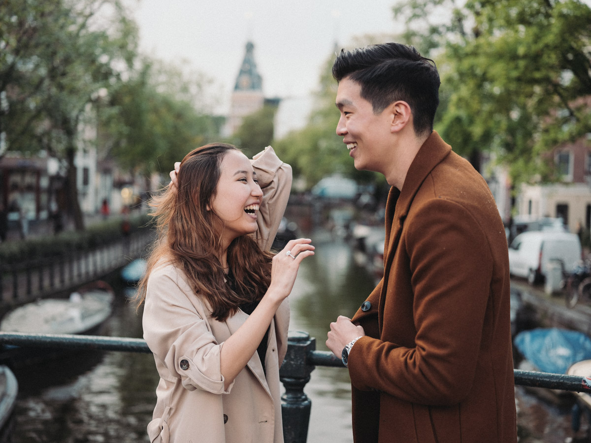 marriage proposal photoshoot amsterdam