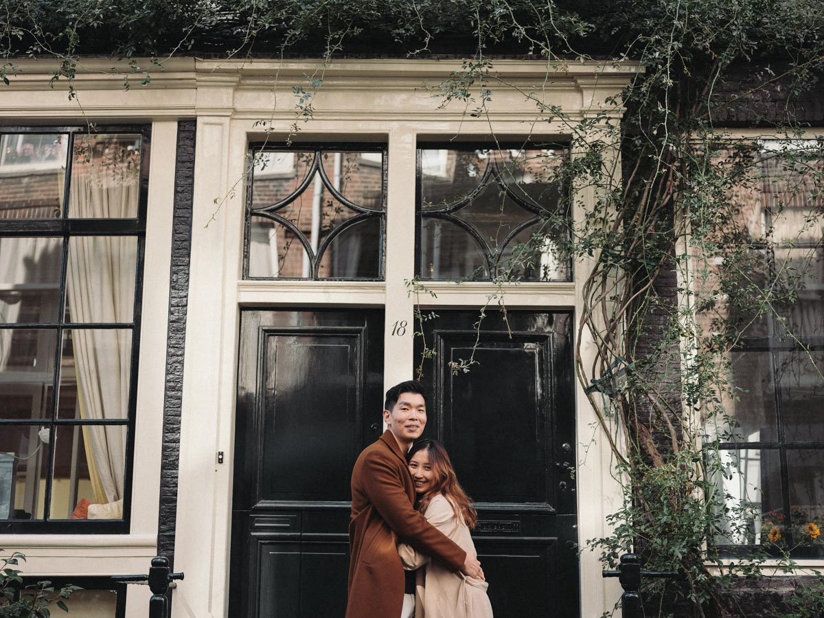 intimate engagement photography amsterdam