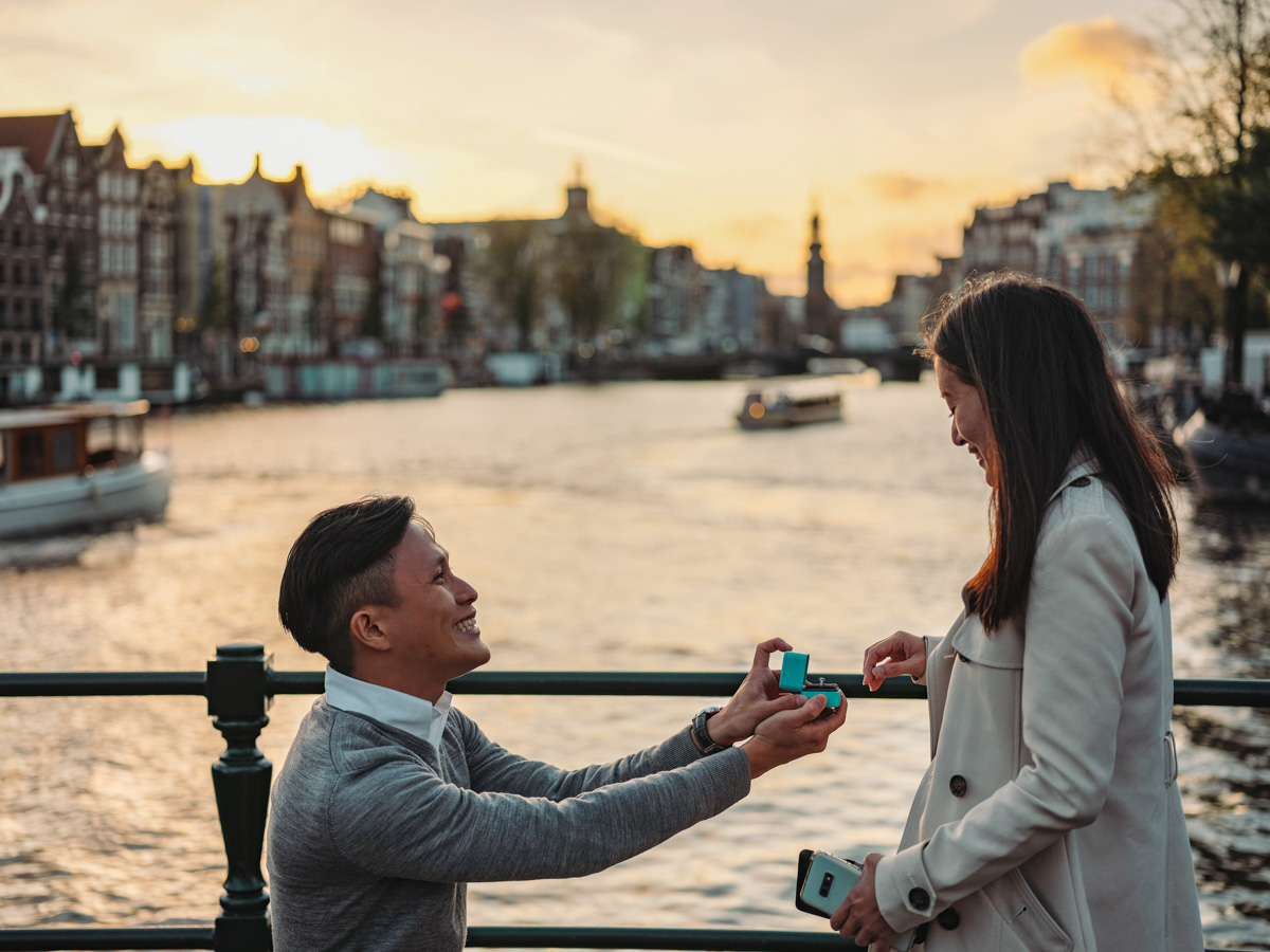 proposal amsterdam photographer