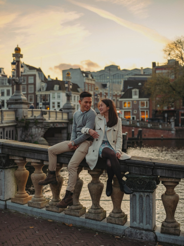 couple amsterdam photography
