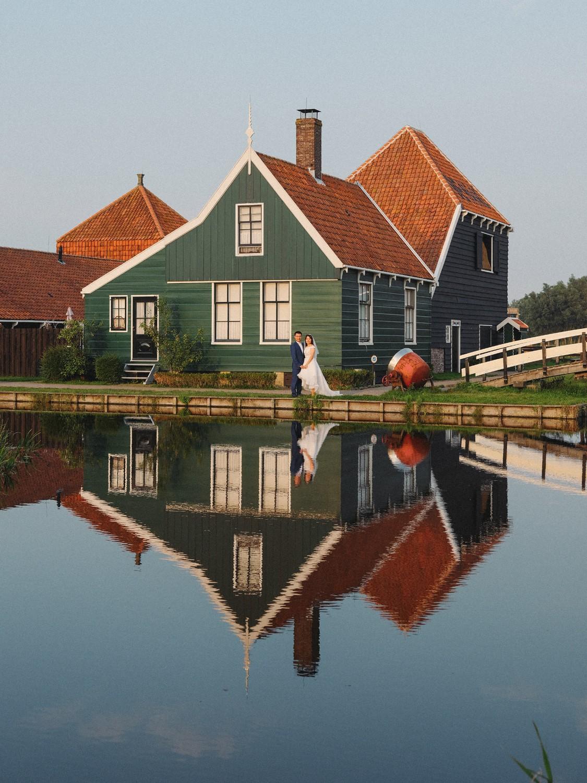prewedding windmills village