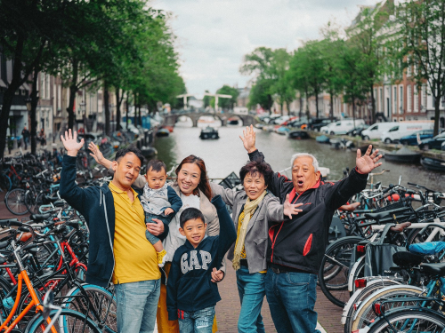 family photography experience amsterdam