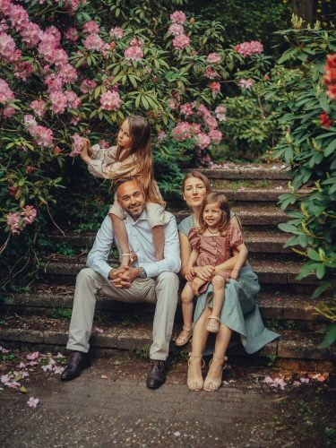 family photography in Amsterdam's park