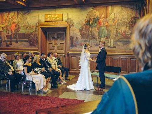 wedding photography city hall
