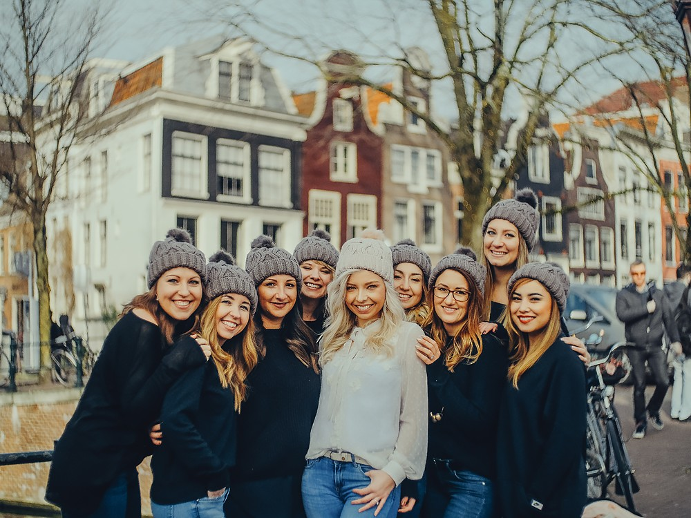 group photoshoot netherlands