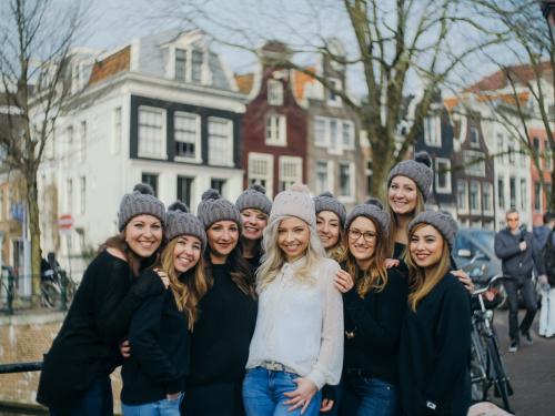 group photoshoot netherlands