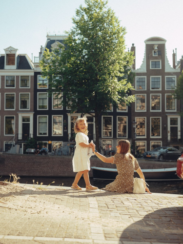 mother daughter photoshoot amsterdam