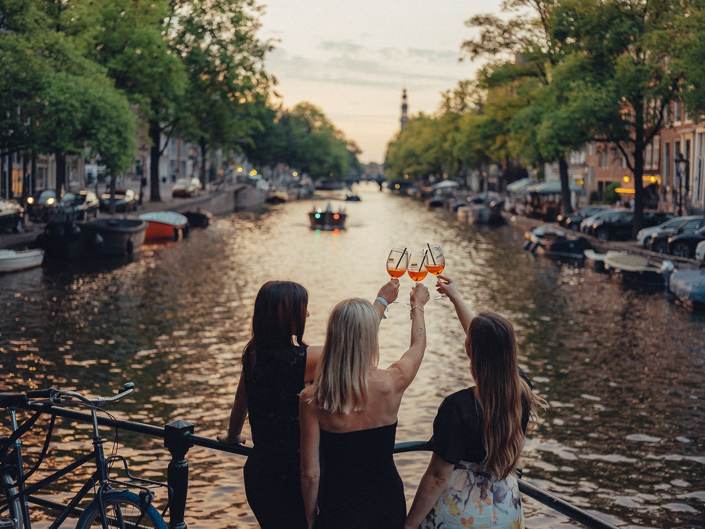 фотосессия девичника амстердам