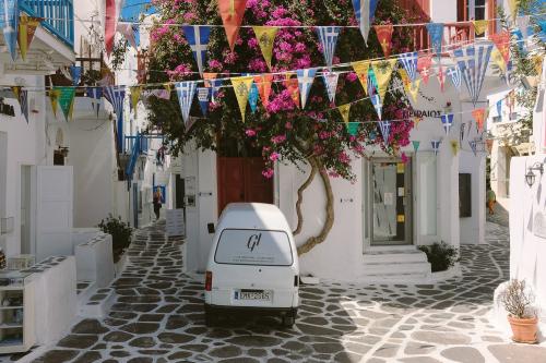 авторский блог о путешествии на миконос