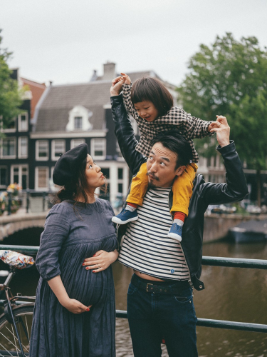 japanese family photography amsterdam