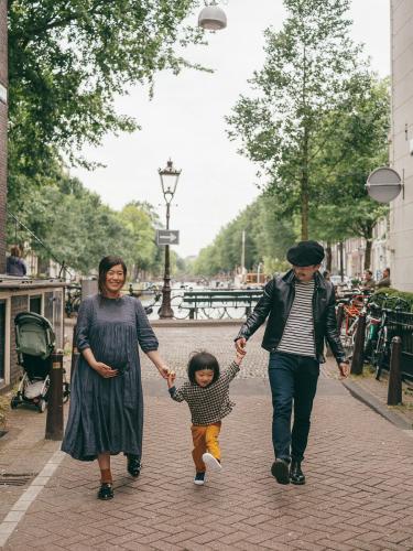japanese family photoshoot amsterdam