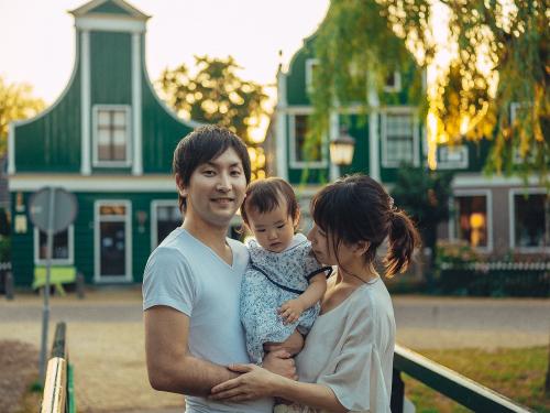 family photographer windmills village