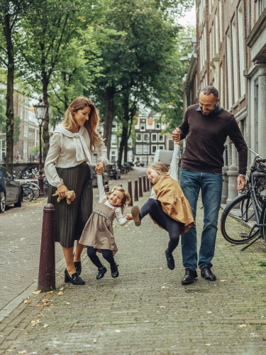 spontaneous family photography amsterdam