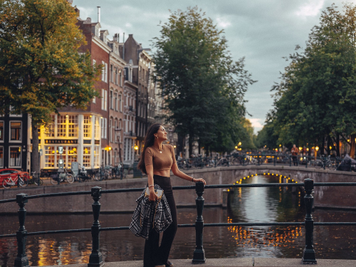 amsterdam blue hour photography