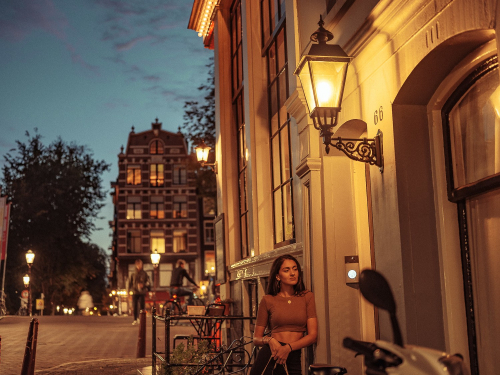 amsterdam blue hour photographer